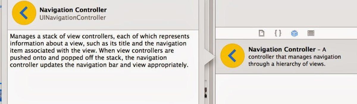 Curso de iOS7: Navigation Controller, Segues (I)