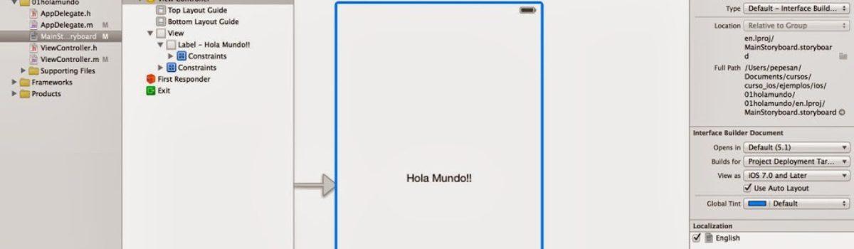 Curso de iOS7: El Storyboard
