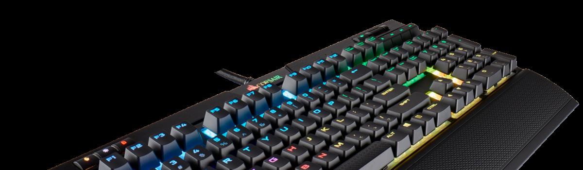 El estudio de Video en Casa: Configuración de teclado Corsair Strafe MK2 en Linux